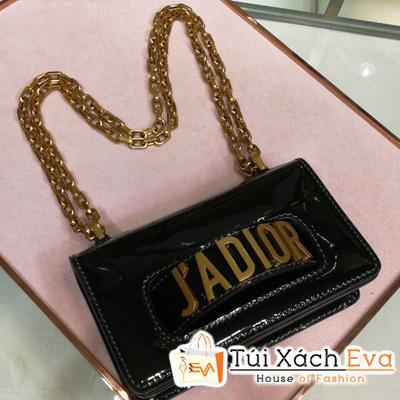 Túi Xách Dior Jadior Super  Màu Đen Bóng  M9002