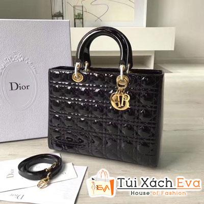 Túi Xách Dior Lady Siêu Cấp Da Bóng 7 Ô