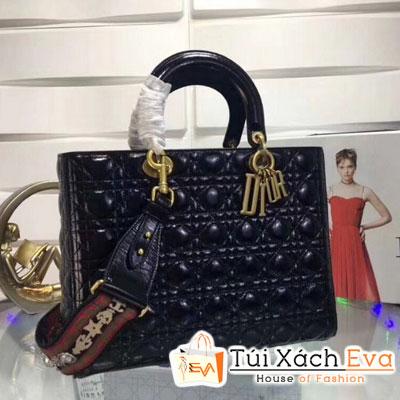 Túi Xách Dior Lady Siêu Cấp Da Lì 7 Ô