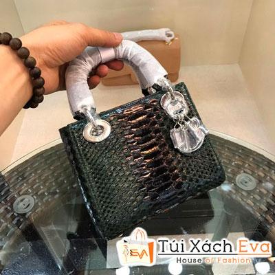 Túi Xách Dior Lady Siêu Cấp Da Rắn