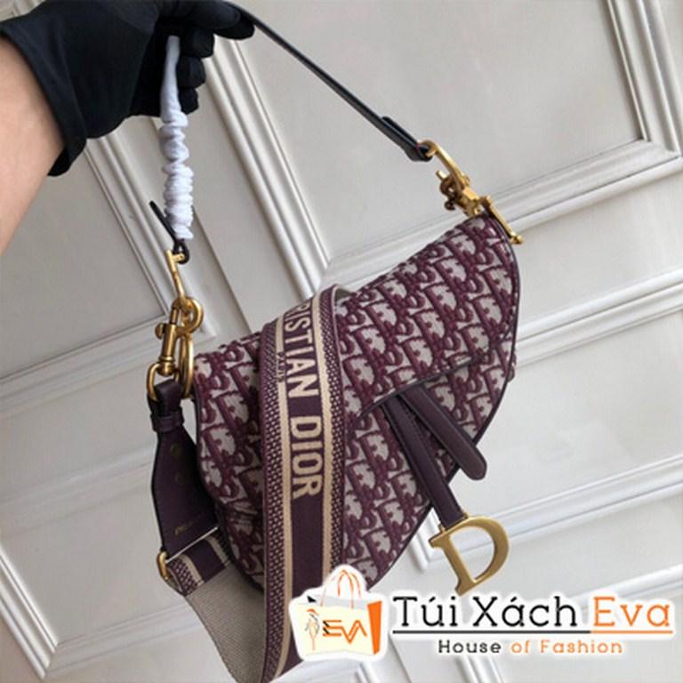 Túi Xách Dior Oblique Saddle Bag Siêu Cấp Màu Đỏ
