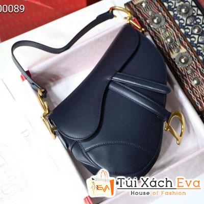 Túi Xách Dior Saddle Siêu Cấp Logo D Màu Đen