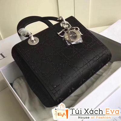 Túi Xách Dior Siêu Cấp   Da Trơn Màu Đen