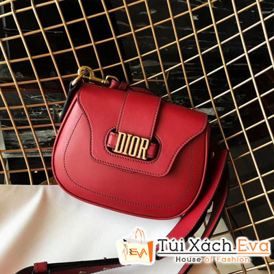Túi Xách Diorama Siêu Cấp Màu Đỏ Bầu