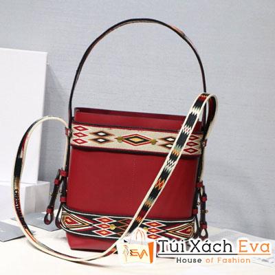 Túi Xách Diorodeo Calfskin Hobo Bag Siêu Cấp Màu Đỏ