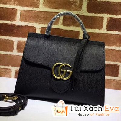 Túi Xách Gucci Gg Marmont Siêu Cấp Màu Đen 442622