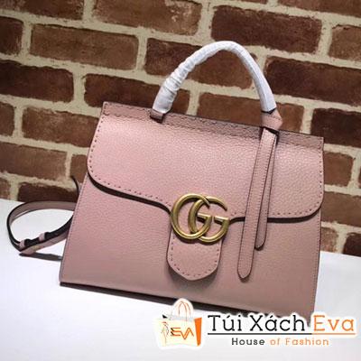Túi Xách Gucci Gg Marmont Siêu Cấp Màu Hồng 442622