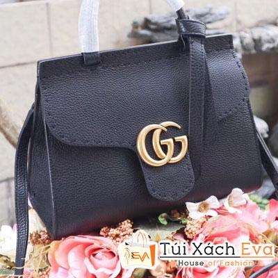 Túi xách Gucci Marmont 2017 super da togo màu đen khóa vàng đẹp