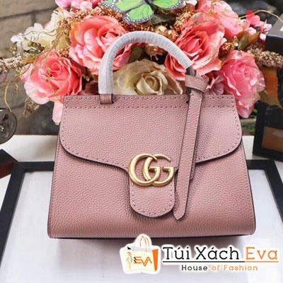 Túi xách Gucci Marmont 2017 super da togo màu hồng phấn khóa vàng đẹp