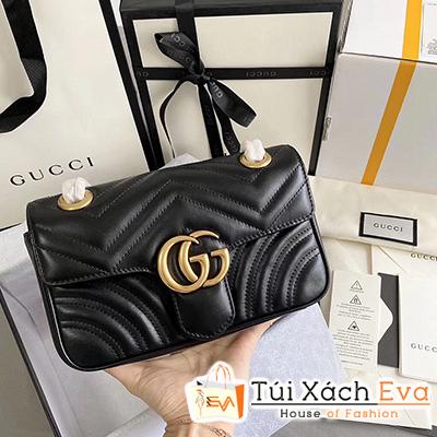 Túi Xách Gucci Marmont Bag Siêu Cấp Màu Đen Đẹp M22.