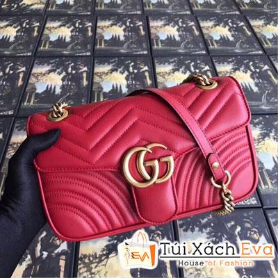 Túi Xách Gucci Marmont Siêu Cấp Màu Đỏ