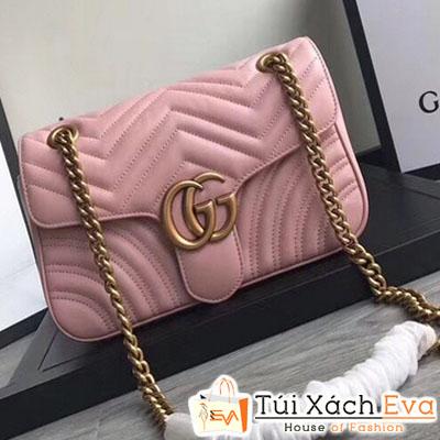 Túi Xách Gucci Marmont Siêu Cấp Mầu Hồng Đẹp