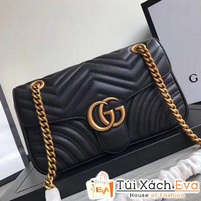 Túi Xách Gucci Marmont  Siêu Vip Màu Đen