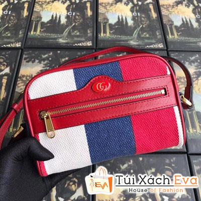 Túi Xách Gucci Ophidia Mini Bag Siêu Cấp Ba Sọc 517350