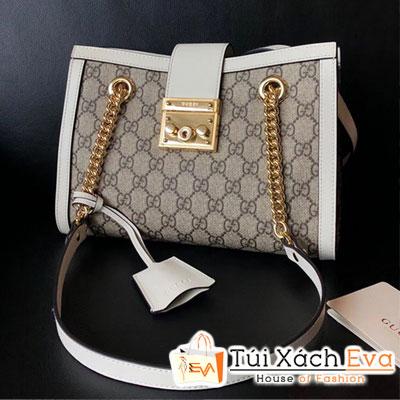 Túi Xách Gucci Padlock GG Small Shoulder Bag Siêu Cấp Màu Trắng 479197