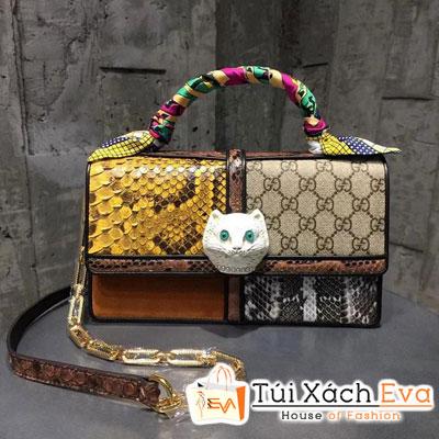 Túi Xách Gucci Patchwork Small Tote Bag Siêu Cấp 499822