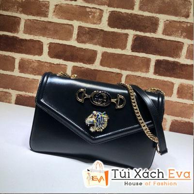 Túi Xách Gucci Rajah Medium Shoulder Bag Siêu Cấp Màu Đen 537241