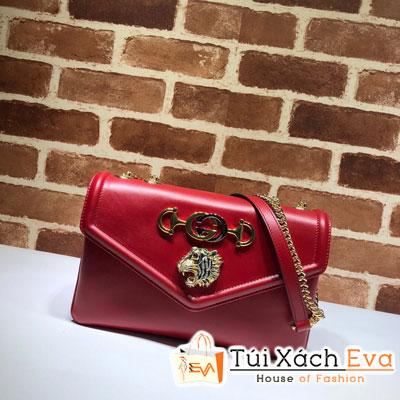 Túi Xách Gucci Rajah Medium Shoulder Bag Siêu Cấp Màu Đỏ 537241