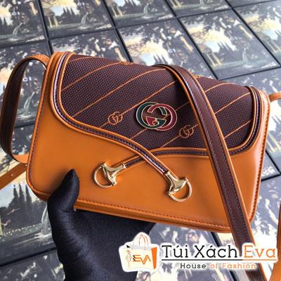 Túi Xách Gucci Rajah Small Shoulder Bag Siêu Cấp Màu Nâu 537206