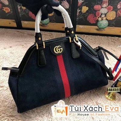 Túi Xách Gucci RE(BELLE) Medium Top Handle Bag Siêu Cấp Màu Xanh Dương 516459