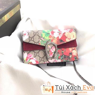 Túi Xách Gucci Siêu Cấp Hai Nắp Khóa Rắn