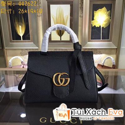 Túi Xách Gucci Siêu Cấp Logo Gucci Màu Đen  Quai Xách