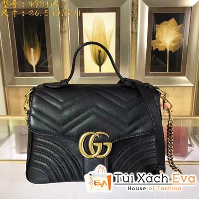 Túi Xách Gucci Siêu Cấp Một Quai Màu Đen