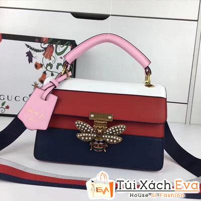 Túi Xách Gucci Siêu Cấp Sọc Đỏ  Hình Con Ong