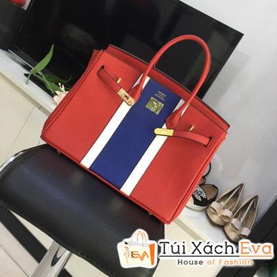 Túi Xách Hermes Birkin F1 Size 35 Cm Màu Đỏ Đẹp