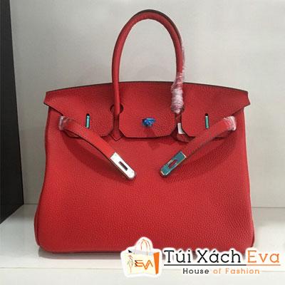Túi Xách Hermes Birkin Super Da Togo Màu Đỏ Đẹp