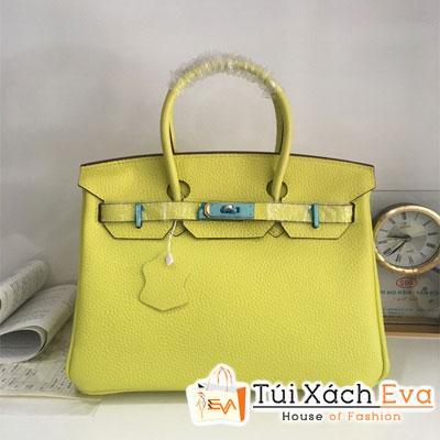 Túi Xách Hermes Birkin Super Da Togo Màu Vàng Đẹp