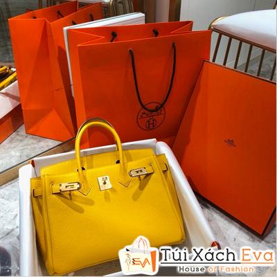 Túi Xách Hermes Birkin Super Màu Vàng