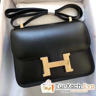 Túi  Xách Hermes Constance Siêu Cấp  Màu Đen