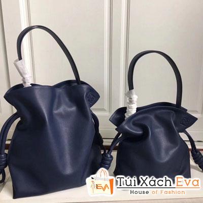 Túi Xách Loewe Flamenco Knot Bag Siêu Cấp Màu Xanh Dương Đậm