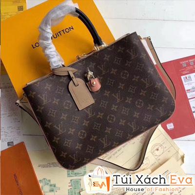 Túi Xách Louis Vuitton Millefeuille Siêu Cấp Hoa Nâu Đẹp