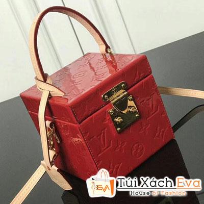 Túi Xách Lv Bleecker Box Siêu Cấp Hoa Màu Đỏ M52703