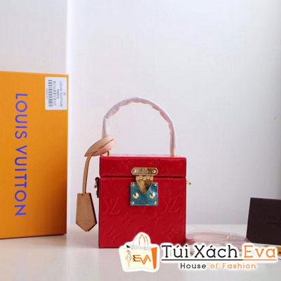 Túi Xách Lv Bleecker Box Siêu Cấp Màu Đỏ M52466
