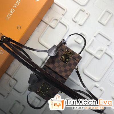 Túi Xách Lv Bleecker Box Siêu Cấp Ô Nâu M52703