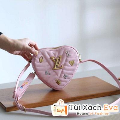 Túi Xách Lv Buyma New Wave Heart Siêu Cấp Màu Hồng M53205