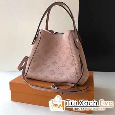 Túi Xách Lv Hina PM Mahina Leather Siêu Cấp Màu Hồng M54353