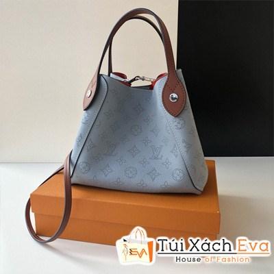 Túi Xách Lv Hina PM Mahina Leather Siêu Cấp Màu Xanh M54353