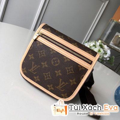 Túi Xách Lv Monogram Bam Bag Siêu Cấp Hoa Nâu M40108