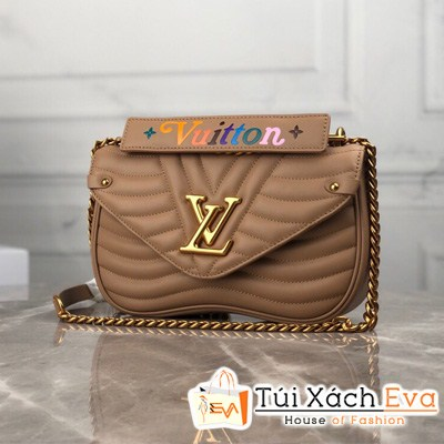 Túi Xách Lv New Ware Chain Bag Mm Siêu Cấp Màu Kem M51945