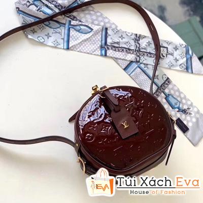 Túi Xách Lv Siêu Cấp Boite Chapeau Souple Monogram Vernis Leather Red  M53999