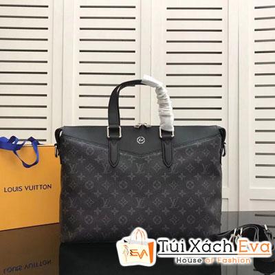 Túi Xách Lv Siêu Cấp Cặp Nam Hoa Đen