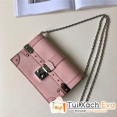 Túi Xách Lv Trunk Chain Wallet Siêu Cấp Màu Hồng  M67507