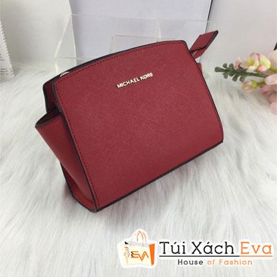 Túi Xách MK Selma F1 Size 20 Cm Màu Đỏ Đẹp