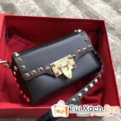 Túi Xách Valentino  Rockstud Siêu Cấp Màu Đen