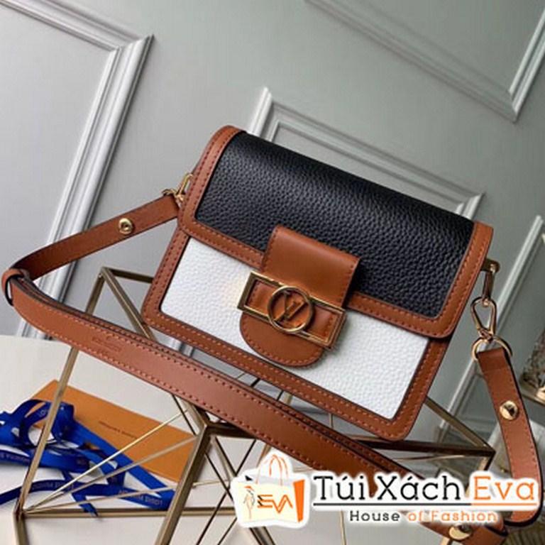 Túi Xách Vl Taurillon Leather Mini Dauphine Màu Đen M53805