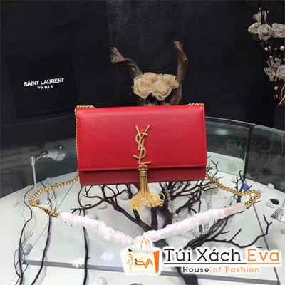 Túi Xách YSL Siêu Cấp Nắp Gập Màu Đỏ Tươi Đẹp